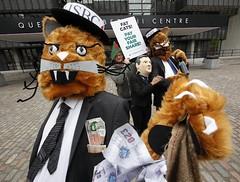 Show us the Money! (Robin Hood Tax) Tags: ftt rht robinhoodtax hsbc banks bankers bonuses agm