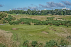 Kingsbarns Golf Course (KCL Images) Tags: standrews fife kingsbarns kingsbarnsgolfcourse bunker flag hole