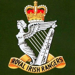 Royal Irish Rangers.- Cap Badge .. Faugh a Ballagh. (mrvisk) Tags: old history regiment soldiers british army crown harp mrvisk