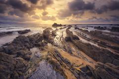 Warm Barrika (Juankar DelRu) Tags: barrika basquecountry bizkaia euskalherria nisiv5filterholderkit paisvasco agua atardecer beach clouds mar nubes playa sea sunfall water