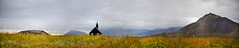 Black church, Iceland (Franci Van der vyver (Carmen Tulum)) Tags: budir iceland blackchurch panorama snfellsnes snfellsnespeninsula budirchurch icelandpeninsula blackchurchpanorama