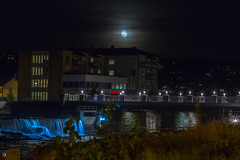 "Moon over Kongsberg • <a style=""font-size:0.8em;"" href=""http://www.flickr.com/photos/126602711@N06/29807512031/"" target=""_blank"">View on Flickr</a>"