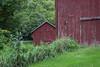 Red Farm Buildings (marylea) Tags: red barn rural 2016 sep8 farm sugarloaffarm