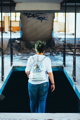 - (alessiagiuffrida_) Tags: explore place abandoned girl girls wild young youth blue