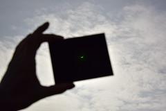 Save your eyes (cris.gerrard) Tags: cloud sun moon green silhouette eclipse weldingglass