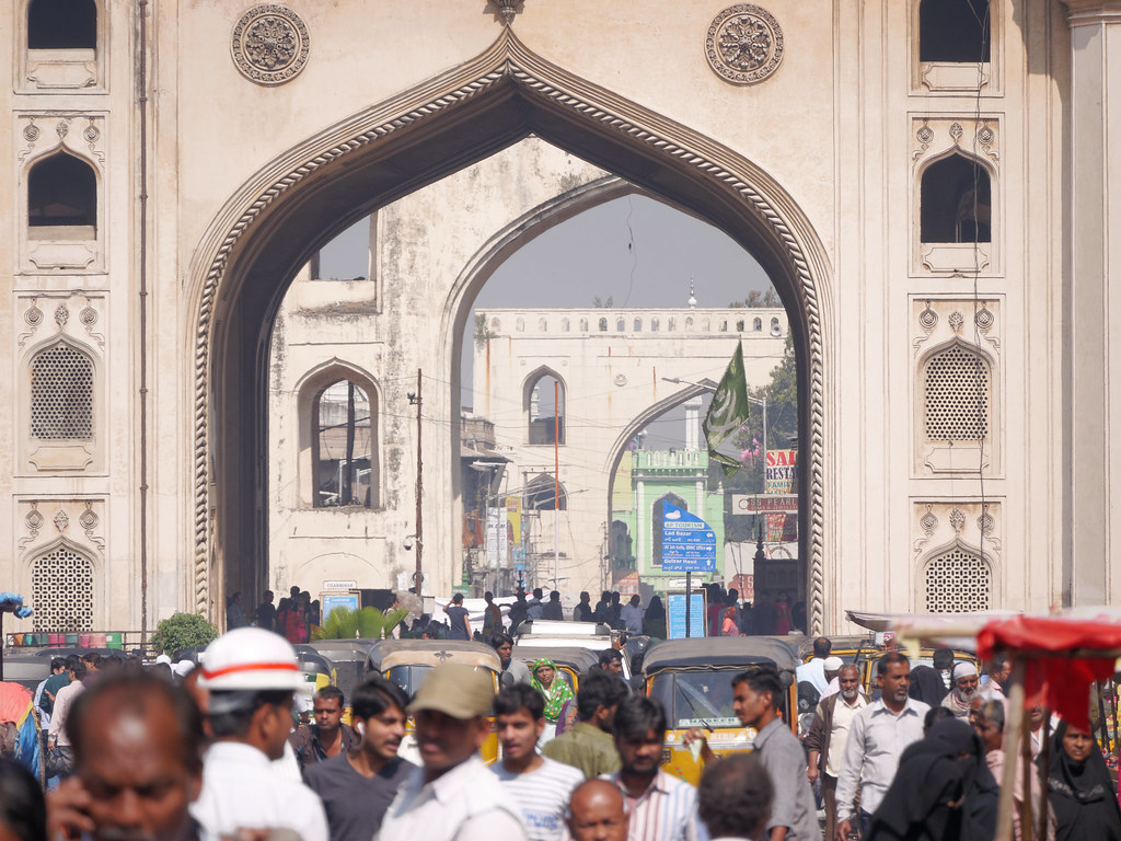 charminar hyderabad essay Hyderabad is a rapidly growing metropolis today photo essay: hyderabad's qutb shahi legacy continues to be its most famous - the charminar a little to the north of this edifice, is a fountain called gulzar hauz.