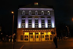 The Old Vic (brianhendrick) Tags: old london architecture night theater time theatre streetphotography waterloo nighttime vic waterloostation theoldvic oldvic ldn