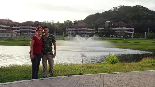 Lago del Parque de Clayton