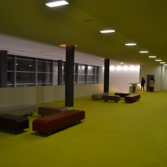"The green ""prarie"" (TheManWhoPlantedTrees) Tags: verde green arquitetura architecture perspective lamps guimares bsquare pitgoras arquitecturaportuguesa ccvf arquitettura quadratum nikond3100 tmwpt"