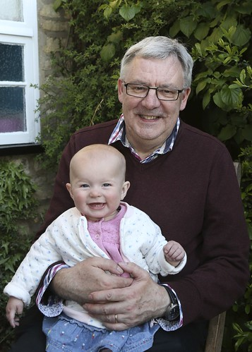 Nigel and Una - Grandpa and Grandaughter - 17/52