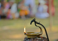 Discover Light in the Darkness of Life (GOPAN G. NAIR [ GOPS Creativ ]) Tags: india lamp festival photography kerala oil tradition hindu gops vilakku gopan gopsorg gopangnair gopsphotography