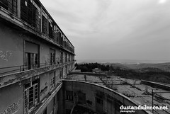 Another world (dustandsilence.net) Tags: blackandwhite bw abandoned hospital decay bn abandon derelict abandonment decayed biancoenero urbex abbandono abbandonato dustandsilence