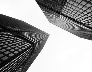 Minimalist Mies ....TD Centre .... Toronto, Ontario