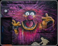 Gnasher. (Suggsy69) Tags: london art animal graffiti town nikon muppets gnasher 2the d5100 muppetscamdencamden