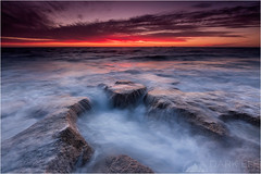 dark sunset (Maciek Gornisiewicz) Tags: burns beach perth western australia indian ocean seascape landscape clouds rocks sunset evening dusk shore coast filter canon tripod 1635mm 5diii maciek gornisiewicz darkelf photography darksunset 2015 explore oria