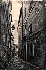 Calles de Toledo (marianobs) Tags: textura bn toledo calles