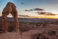 Delicate Arch Sunset (1) (PhotoStorm22) Tags: nationalpark arch desert archesnationalpark delicatearch