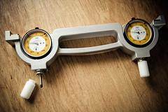 calibration gauge (The Deer Gunter) Tags: switzerland scanner swiss calibration agfa gauge micrometer focusing tesa duoscan t2500 precisiontools