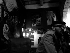 (SofiDofi) Tags: city travel blackandwhite italy coffee florence europa europe italia coffeeshop bookstore m neighborhood independent april firenze traveling oltrarno blackspring prettydarncool spring2015 twomonthsinitaly
