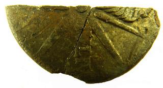 Augustian Silver Republican denarius 18 BC rev