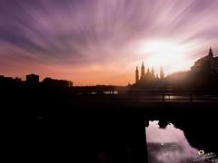 Atardecer Zaragoza - Adrian Sediles (Sediles) Tags: sunset sun river atardecer zaragoza aragon ebro siluetas zgz rioebro basílicadelpilar sediles adriansediles blogadriansedileses fotosediles