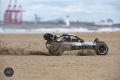 Nitro junky (alundisleyimages@gmail.com) Tags: beach weather sand action industriallandscape modelcar wirral newbrightonbeach boystoys rivermersey radiocontrolcar newbrightonlighthouse portsandharbours liverpool2containerterminal