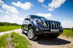 Toyota Land Cruiser (Ivan Klindi) Tags: auto sky test nature field car clouds canon photo shoot dof photoshoot offroad 4x4 f14 sigma testing toyota land session 24mm expensive luxury photosession depth cruiser 6d
