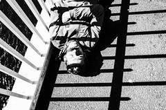 Untitled (nzkphotography) Tags: 2016 dublin ireland street europe streetphotography ricohgr 28mm seriouscompacts monochrome blackandwhite noiretblanc highcontrast travel sleeper people sleeping