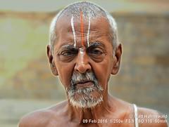 2016-02a Facing Tamil Nadu (60) (Matt Hahnewald) Tags: ©matthahnewaldphotography facingtheworld headshot asia southasia india tamilnadu tiruchirappalli nikond3100 travel traveldestination hindu hinduism colour person srirangam sriranganathaswamytemple religion indianman friendly urdhvapundra vishnusign vaishnavitedevotee vaishnavitepilgrim vaishnavism tilakamark devotee oldman greybeard temple posing worldcultures cultural oneperson character people male adult horizontalformat 43aspectratio human eyecontact photography consent empathy rapport portrait portraiture lighting primelens humanface nikkorafs50mmf18g humaneyes closeup street puja 50mmlens outdoor