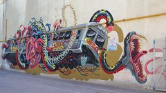 Nychos_7540 rue Ordener Paris 18 (meuh1246) Tags: streetart paris train serpent animaux nychos rueordener paris18