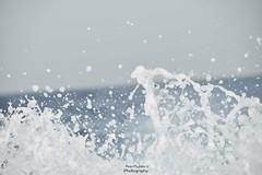 Dancing Marine Water (Aoon Mujtaba) Tags: uae nikon photography ajman arabian sea asp traveller