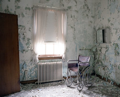 (.tom troutman.) Tags: mamiya 7 film analog 120 6x7 mediumformat fuji pro 160 expired 50mm abandoned hospital nj