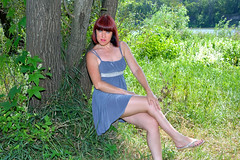 DCS (35) (dmitriy1968) Tags: portrait  nature  beautiful girl wife  people evening erotic sexsual   summer   river   swimsuit  tan  dress