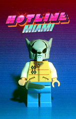 Jacket/Dennis mask (Evgenion) Tags: game art computer blessings video lego fig action miami indoor jacket richard figure minifig dennis custom 50 hotline minifigure moc