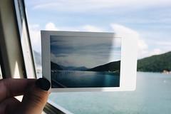Lago D'Iseo ~ Italy (camillaanselmi) Tags: amazing landscape italianlandscape memories beautiful iseolake lake black italian fujifilm fujifilminstax instax italy