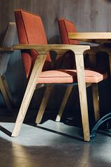 Sunlit chair (Paul Jacobson) Tags: food foodphotography gina home icecream kitchen makingicecream process גלידה