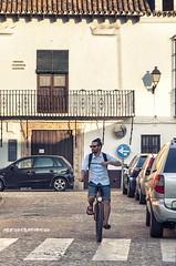 Son para el verano / They are made for summer (Alicia Clerencia) Tags: street summer people bike gente bicicleta verano urbana stolen ayamonte robado