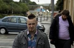 Accidents Happen (D.I. Hammonds) Tags: haircut car tangerine wales canon hair eos video mark taxi aberystwyth driver thug meejoo youtube 1200d