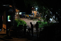 Iftar excitement (I.M.W.) Tags: bangladesh srimangol sylhet town silhouette village street night evening iftar ramadan dark lights