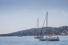 Sailing (Sally Dunford) Tags: sallyfrance2016 sallyjune2016 portgrimaud southoffrance canon7d canon1755mm