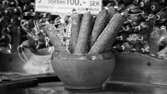Wurst Pepper (Shantasphotos) Tags: wood white black sign sausage bowl wurst