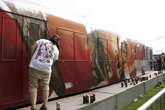 Upfest 2016 (thatmelissakid) Tags: upfest bristol bedminster streetart art festival artist red progress graffiti outdoor