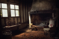 R Is For Relax (Explored) (Just Josie) Tags: chair fireplace kentwellhall interior oldbuilding