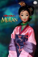 The flower that blooms in adversity is the rarest and most beautiful of all... (PrinceMatiyo) Tags: doll disney mattel mulan