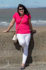 Posing in the Sun (The Crewe Chronicler) Tags: newbrighton sea seaside wirral thewirral canon canon7dmarkii