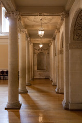 Gallery colonnade   Tea Room   Assembly Rooms   Bath-42 (Paul Dykes) Tags: bath somerset england uk georgian assemblyrooms bathassemblyrooms johnwoodtheyounger eighteenthcentury 18thcentury