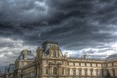 Clouds Over Musee d'Orsay (gr8fulted54) Tags: tonemapped hdr photomatix on1 noiseless nikon d7100 clouds paris