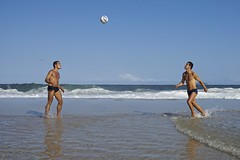 Footvolley at Leme beach (alobos Life) Tags: footvolley sport futbol ball sand arena boy guy garoto cute nice beautiful sunga speedo water beach playa funny enjoying rio de janeiro brasil brazil have fun outdoors candid brazilian blue azul brasileo futevolei 2016 leme