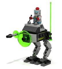 Lunar Mining Base: Recon Walker (nitrosparxx) Tags: lego legoideas robot mecha space mining walker minifig