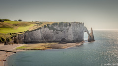 Falaise d'aval, Etretat (musette thierry) Tags: musette thierry d600 reflex etretat france europe gris nature paysage